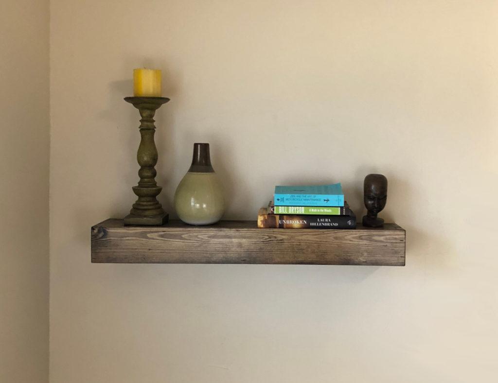 floating shelf wall  6x30